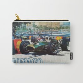 Gran Prix de Monaco, 1968, original vintage poster Carry-All Pouch