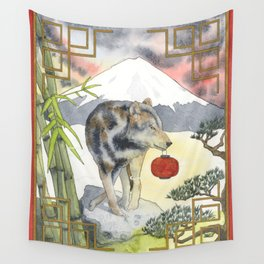 2018 Chinese New Year of the Earth Dog Wall Tapestry
