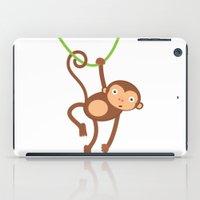arctic monkeys iPad Cases featuring Monkeys by olillia
