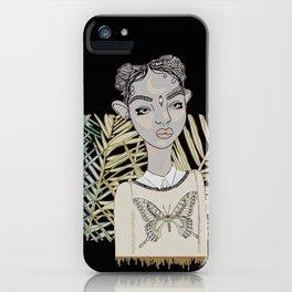 Butterfly Lies iPhone Case