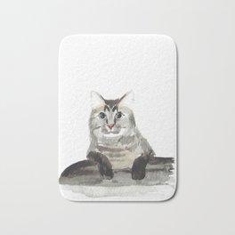 Sherlock the Cat Bath Mat