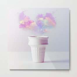 Forecast in a Cup Metal Print