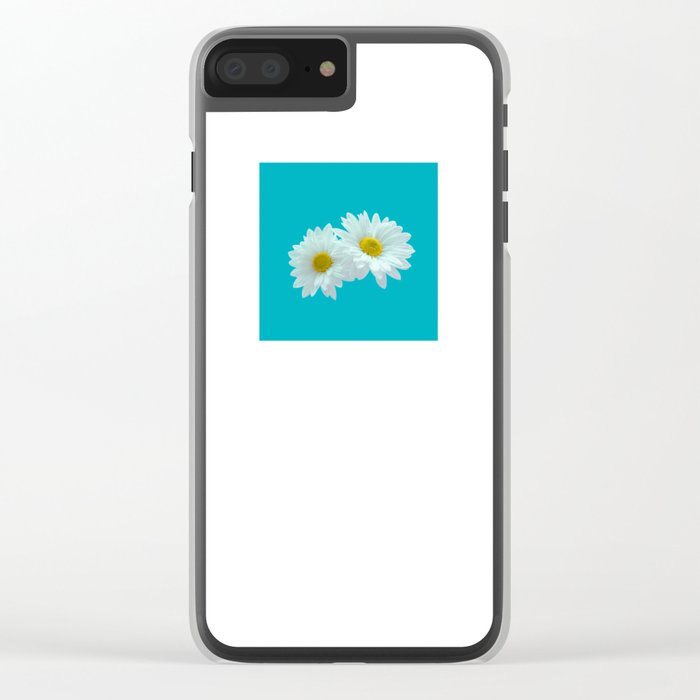 Daisy, Daisy Clear iPhone Case