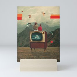 Mother Protect Me from the Sadness of this World Mini Art Print