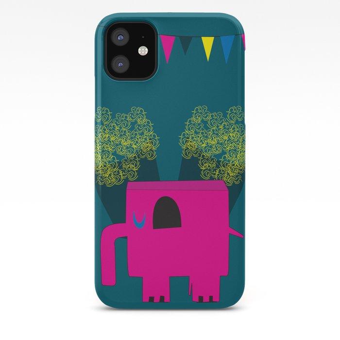elephant circus iPhone 11 case