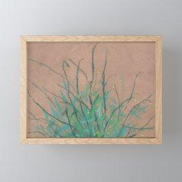 Summer herbs Framed Mini Art Print