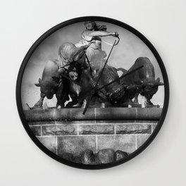 Gefion Brunnen Wall Clock