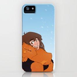 Hermione and Crookshanks iPhone Case