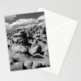 Goblin Valley B&W Stationery Cards