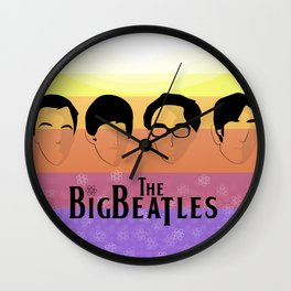 The Big Beatle Theory Wall Clock