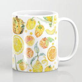 Harvest of Yellow Coffee Mug