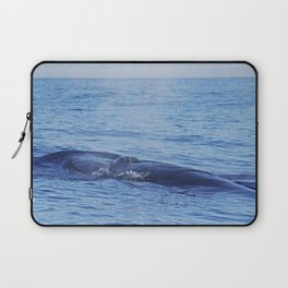 Tropical whale: The Bryde´s whale Laptop Sleeve