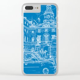 Horse Guards Clear iPhone Case