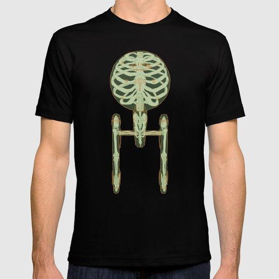 Spaceship Skeletal Survey: The Enterprise T-shirt