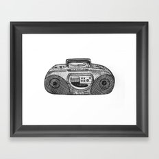 Radio Framed Art Print
