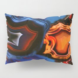 Agate, What springs from Earth dissolves to Earth again Pillow Sham
