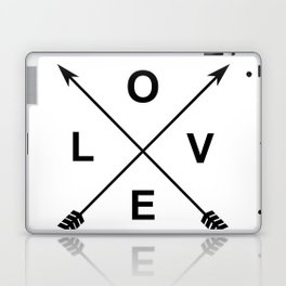 Love and Arrows Laptop & iPad Skin