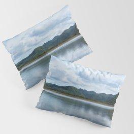 Cloud Reflections Photography Print Pillow Sham