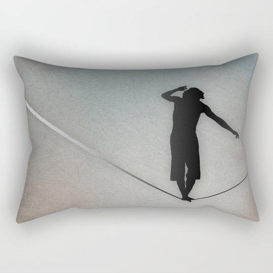 Slackline Rectangular Pillow