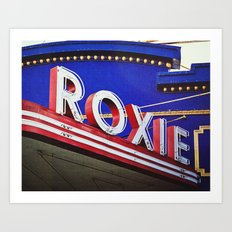 Vintage Theater Sign, San Francisco Art Print