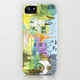 Norwich- City of Stories iPhone Case