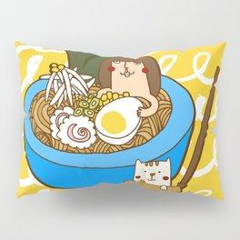 Ramen bowl Pillow Sham