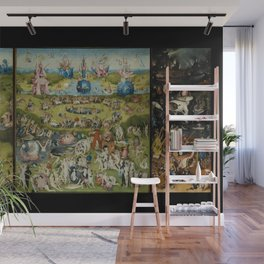 The Garden of Earthly Delights, Surreal, Hieronymus Bosch Wall Mural