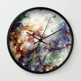 Intersellar cloud Wall Clock