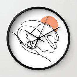 Hack Job :: Single Line Wall Clock