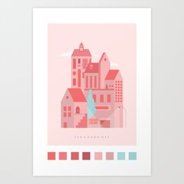 I Made This For My Lover Art Print