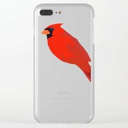 Cardinal Clear iPhone Case