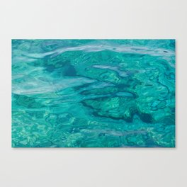 Mediterranean Water Canvas Print