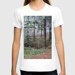 the red forest crossing T-shirt