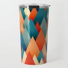 070 – deep into the autumn forest texture I Travel Mug