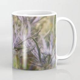 Unique Purple Flowers Coffee Mug