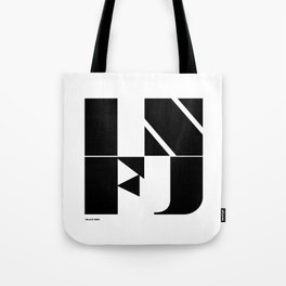 Type Type for INFJ Tote Bag