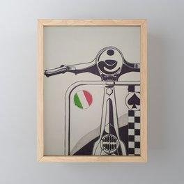 MotoV Framed Mini Art Print