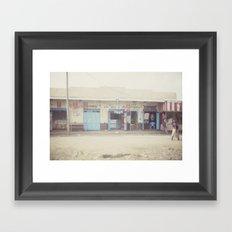 open for business::kenya Framed Art Print