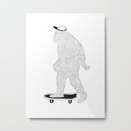 BIGFOOT Metal Print