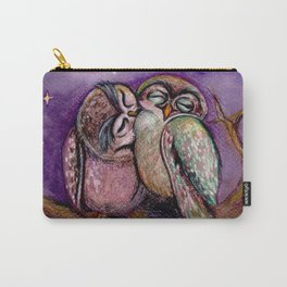 Owls in love Carry-All Pouch
