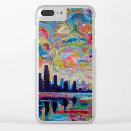 Urban Dreams Clear iPhone Case