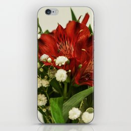 Still life with flowers iPhone Skin