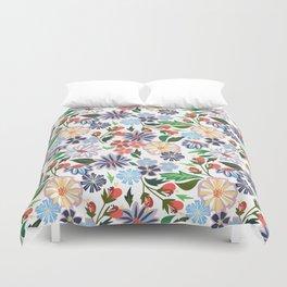 Springtime Floral Duvet Cover