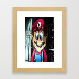 The Jacksonville Landing - Hey Mario! Framed Art Print