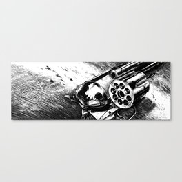 A bullet for everyone Canvas Print