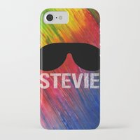 stevie nicks iPhone & iPod Cases featuring STEVIE by Maenia