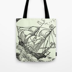 The Waves Tote Bag