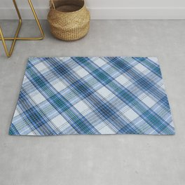 Colorful Striped loincloth fabric background Rug