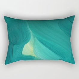 Aquamarine Vista Rectangular Pillow