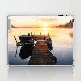 Sunrise at the Cottage Laptop & iPad Skin